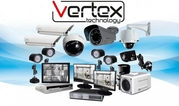 Установка видеонаблюдения от Vertex Technology